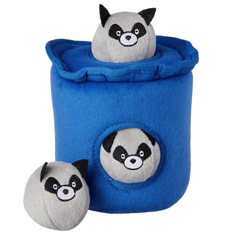 Raccoons in the Trash - Hide & Seek Toy