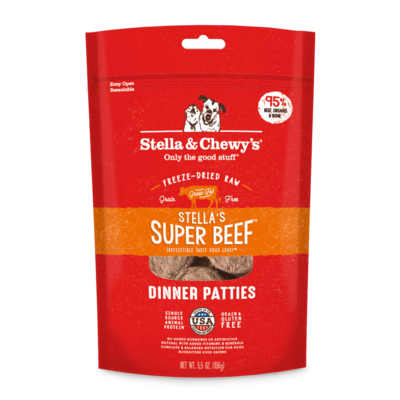 Freeze Dried Beef Dinner Patties - Stella&Chewy