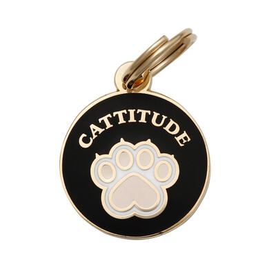 Cattitude Cat Tag