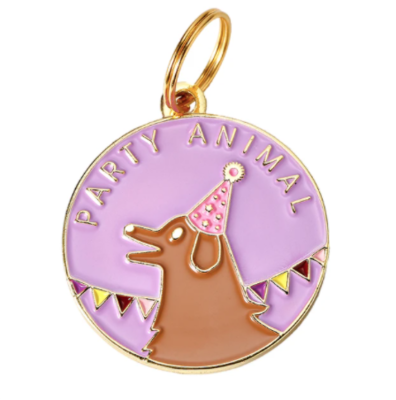 Party Animal Dog Tag