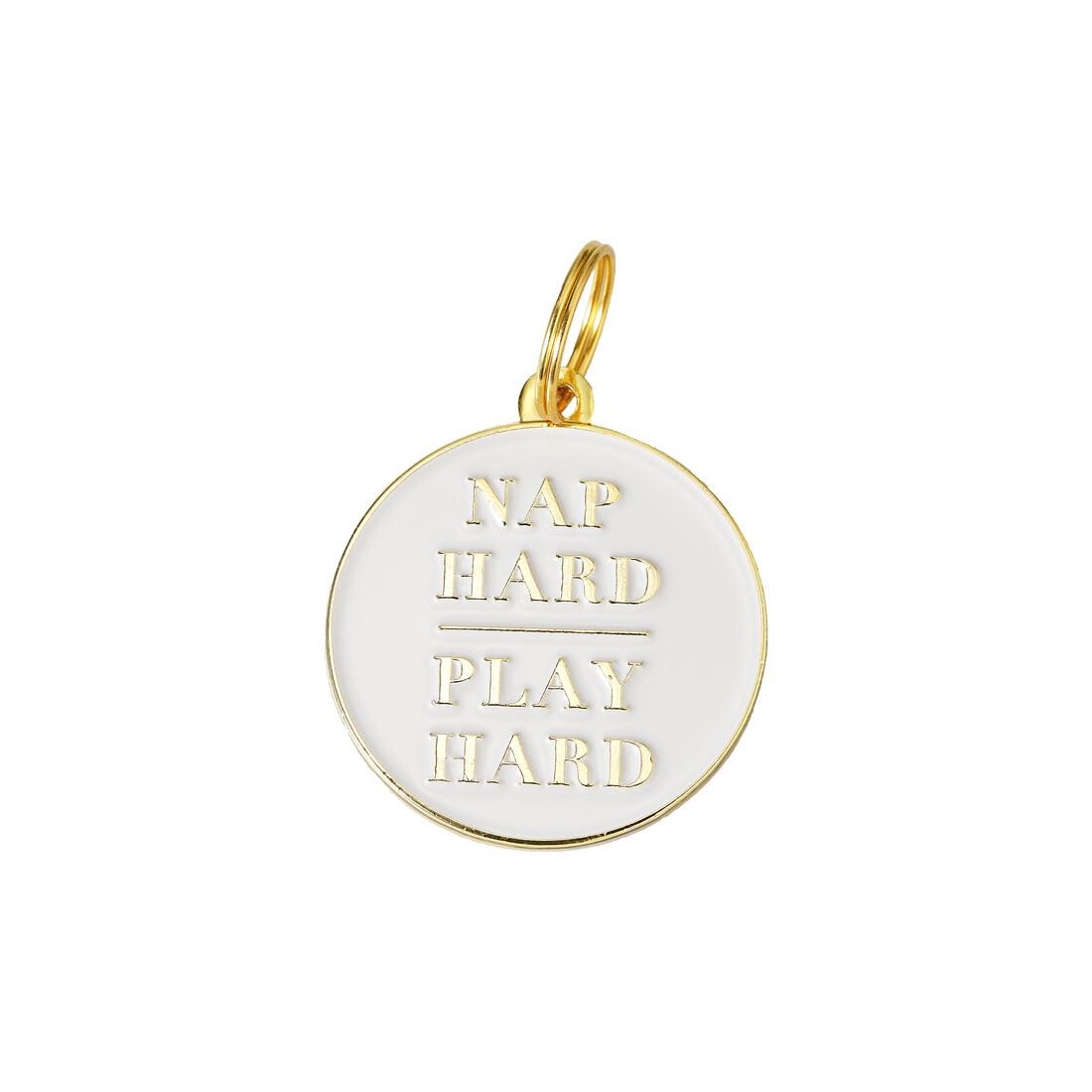 Nap Hard Play Hard Tag