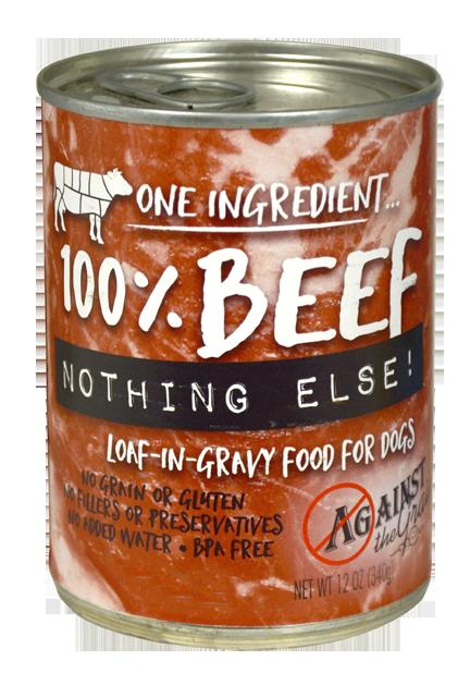 One Ingredient 100% Beef - Against the Grain