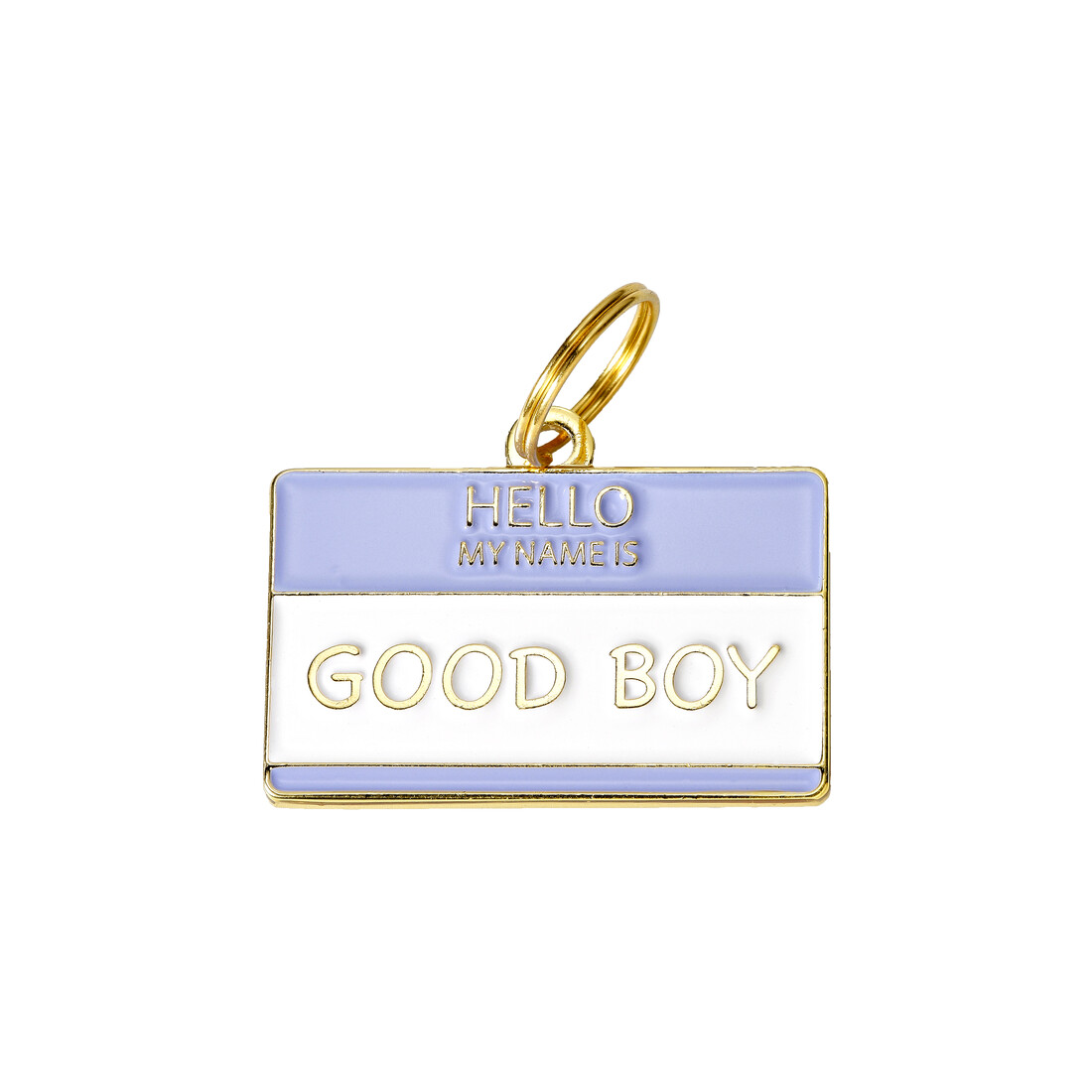 Hello My Name Is Good Boy Tag