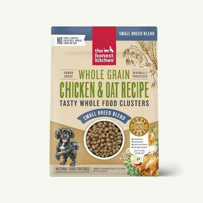 Small Breed Chicken & Oat Clusters-Honest Kitchen