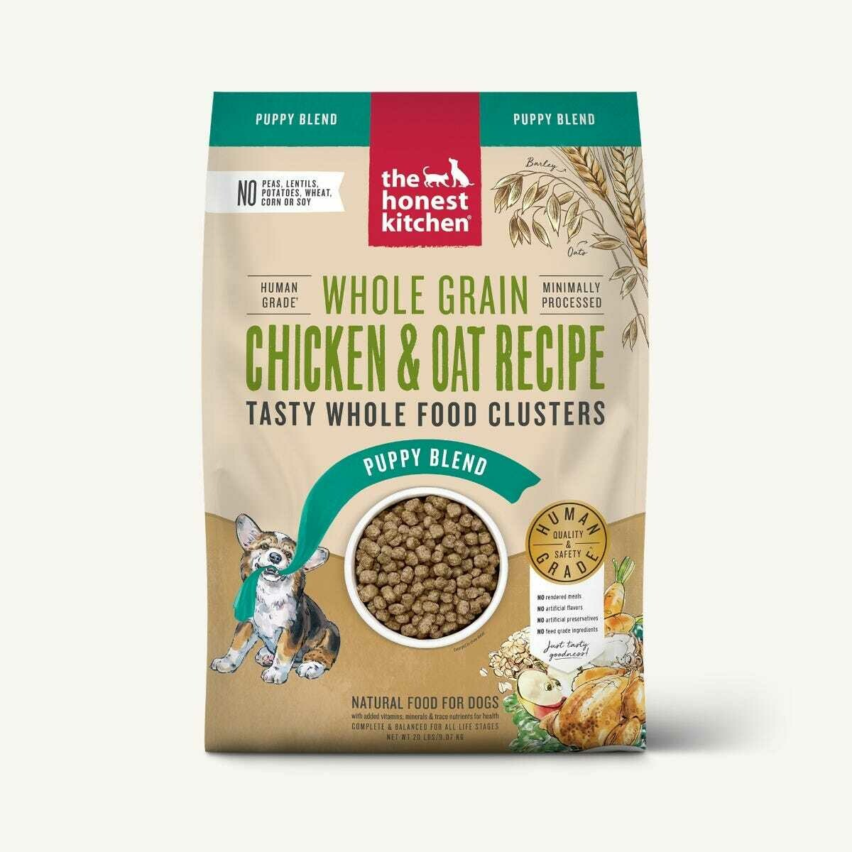 Puppy Chicken & Oat Clusters - The Honest Kitchen