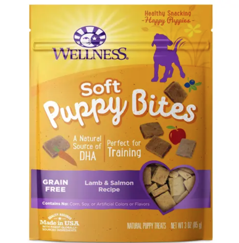 Lamb & Salmon Puppy Soft Bites - Wellness