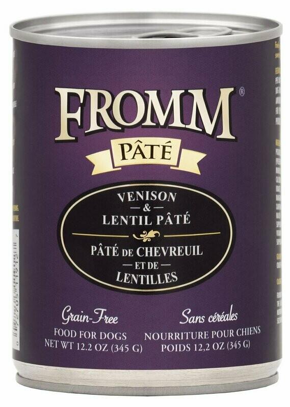 Gold Venison & Lentil Pâté - Fromm
