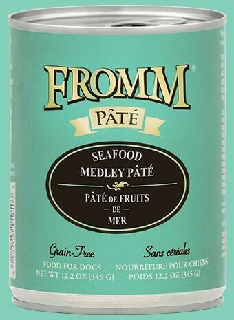 Gold Seafood Medley Pâté - Fromm