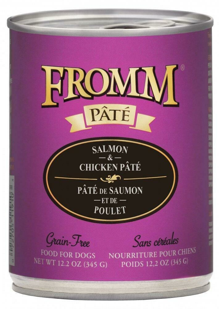 Gold Salmon & Chicken Pâté - Fromm