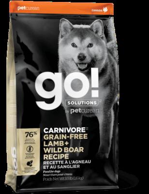 GO! Carnivore GF Lamb & Wild Boar Recipe