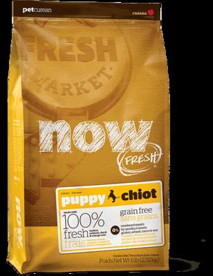 Now Fresh Grain Free Puppy Recipe