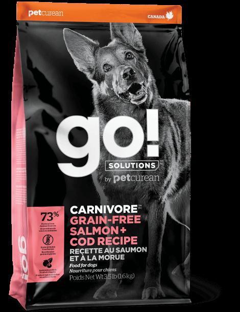 GO! Carnivore GF Salmon & Cod Recipe