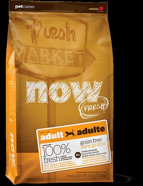 Now Fresh Grain Free Adult Recipe