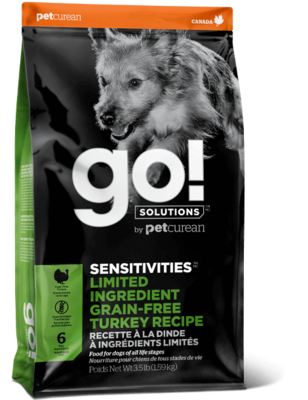 GO! Sensitivities Limited Ingredient Turkey Recipe