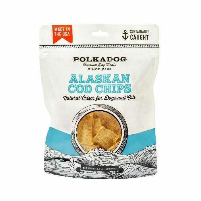 Alaskan Cod Chips - Polkadog