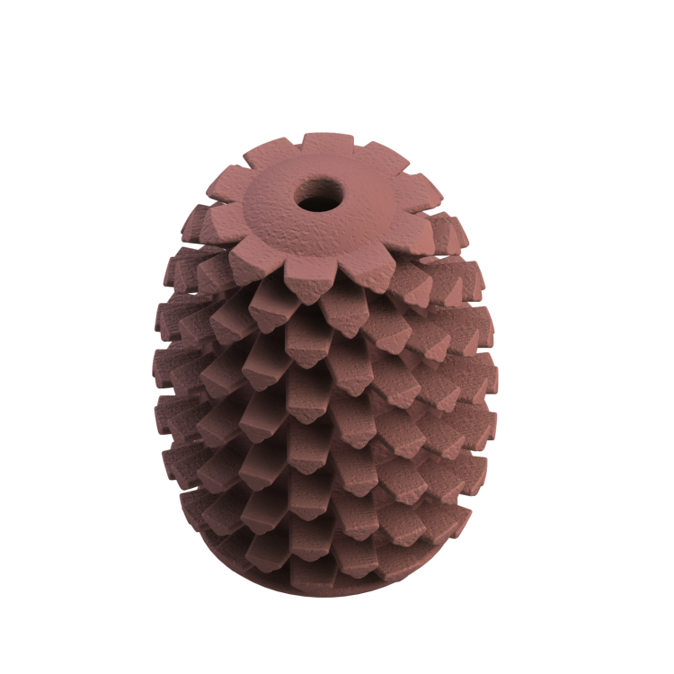 Natural Rubber Pinecone