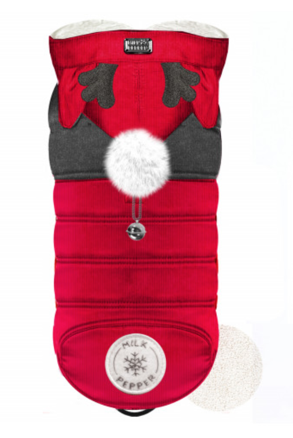 Red Luxury Antler Coat