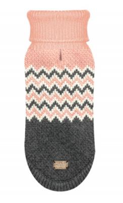Blush Luxury Zig Zag Sweater