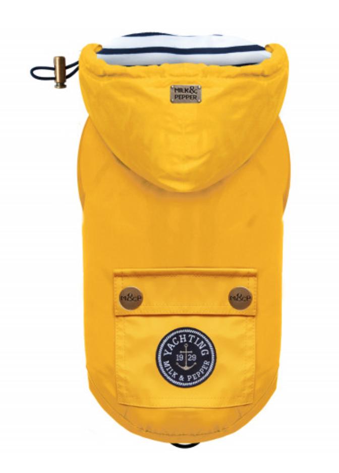 Classic Luxury Yellow Raincoat