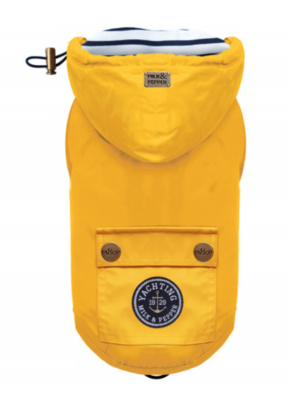 Classic Luxury Yellow Raincoat