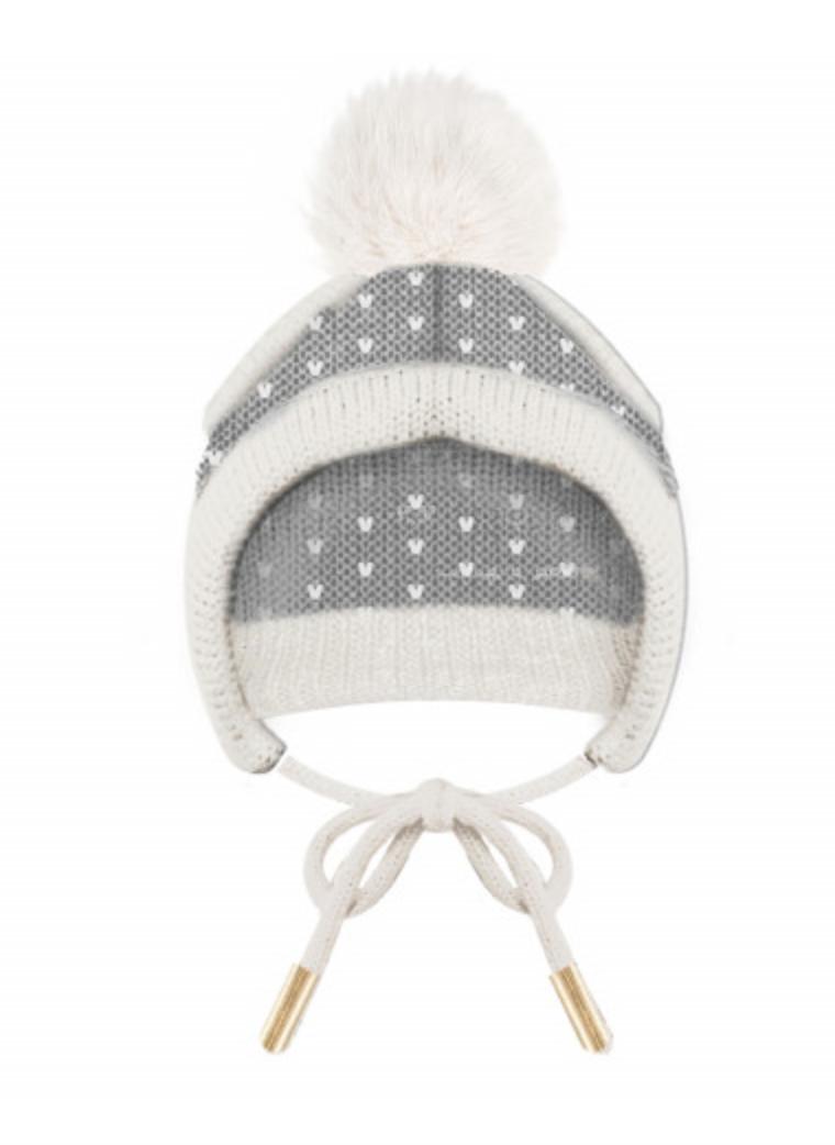 Luxury Lapland PomPom Cap - Size 2