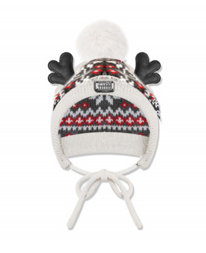 Luxury Apres Ski Antler Cap - Size 2