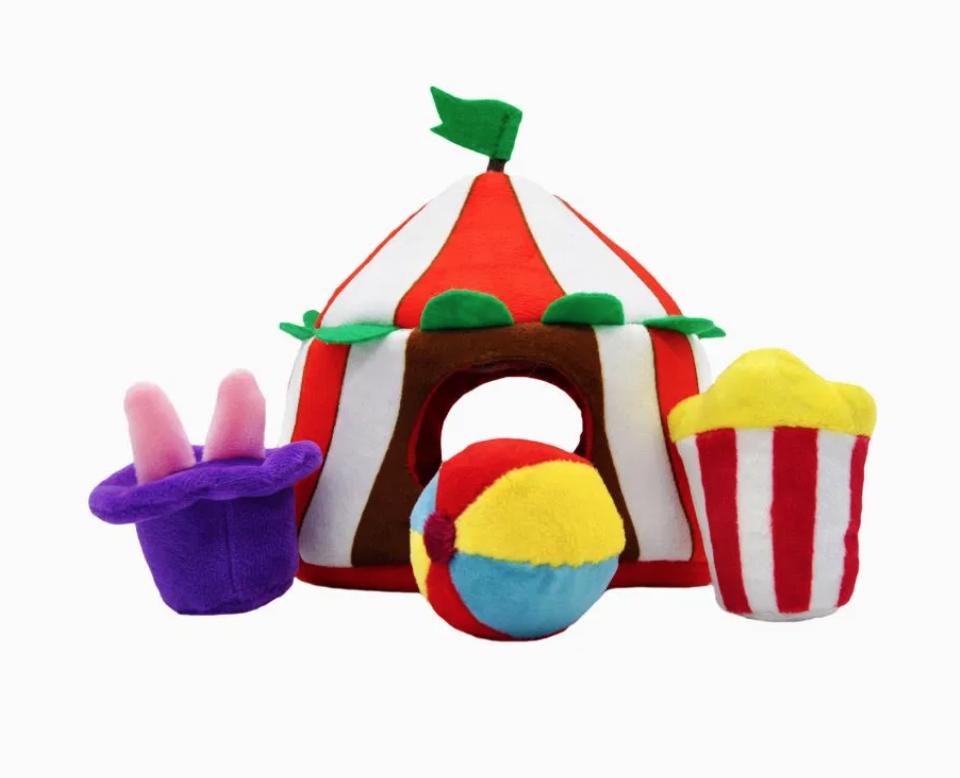 Circus Tent - Hide & Seek Toy