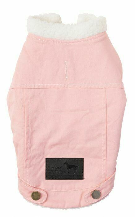 Pink Coat w/Sheepskin