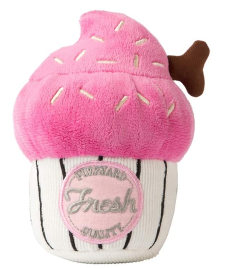 Small Pink Cupcake Toy