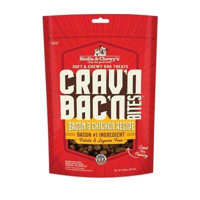 Crav'n Bac'n Bites - Bacon & Chicken Recipe - Stella & Chewy