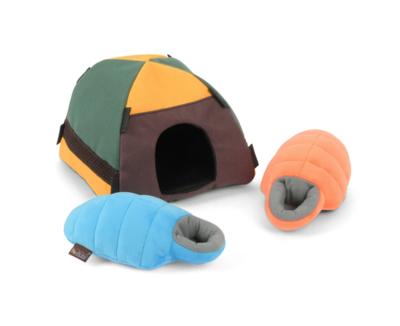 Tent & Sleeping bags - Hide & Seek - P.L.A.Y.