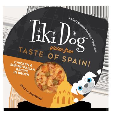 Taste of Spain - Tiki Dog
