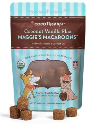 Coconut Vanilla Flax Macaroons - Cocotherapy