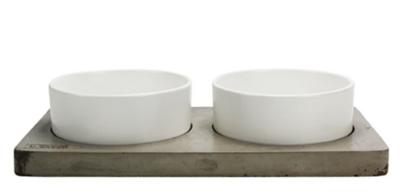 Concrete & Ceramic Bowl