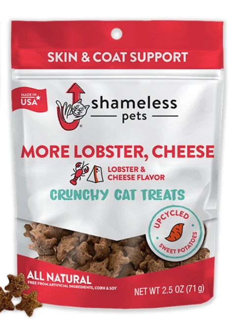 More Lobster & Cheese Cat Treats - Shameless Pets