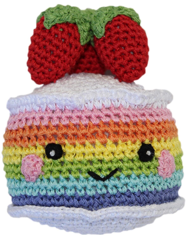 Organic Crochet Cake Toy