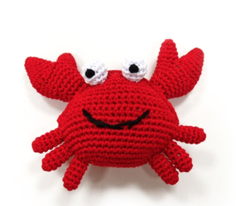 Organic Crochet Crab