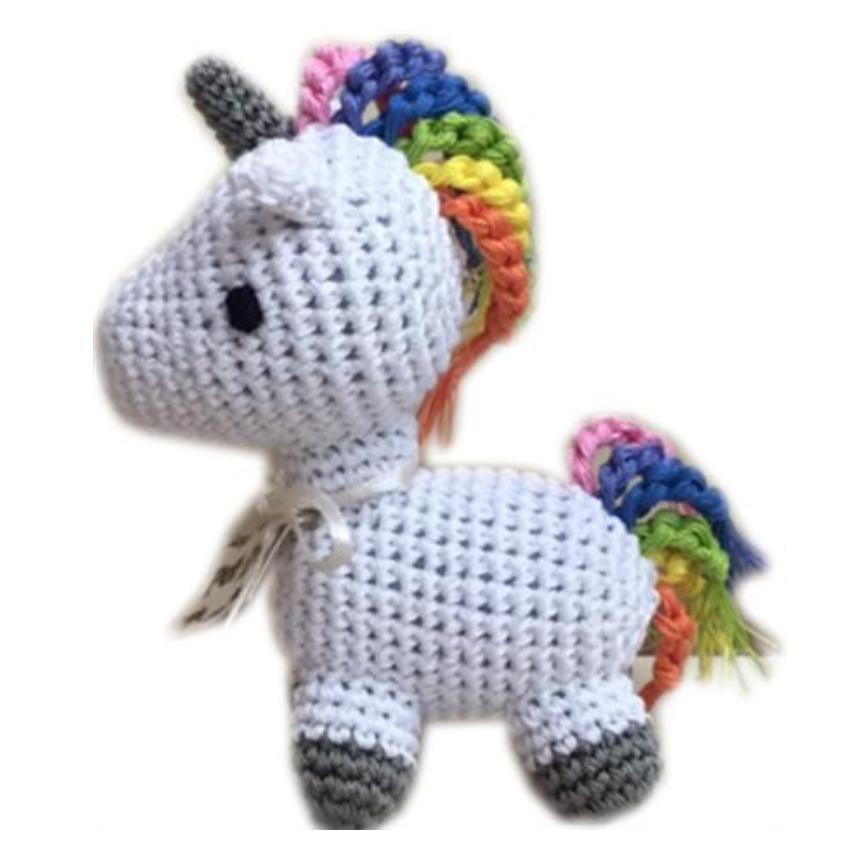 Organic Crochet Unicorn Toy