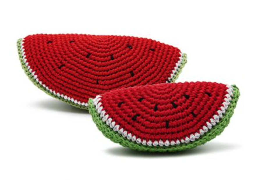 Organic Crochet Watermelon Toy