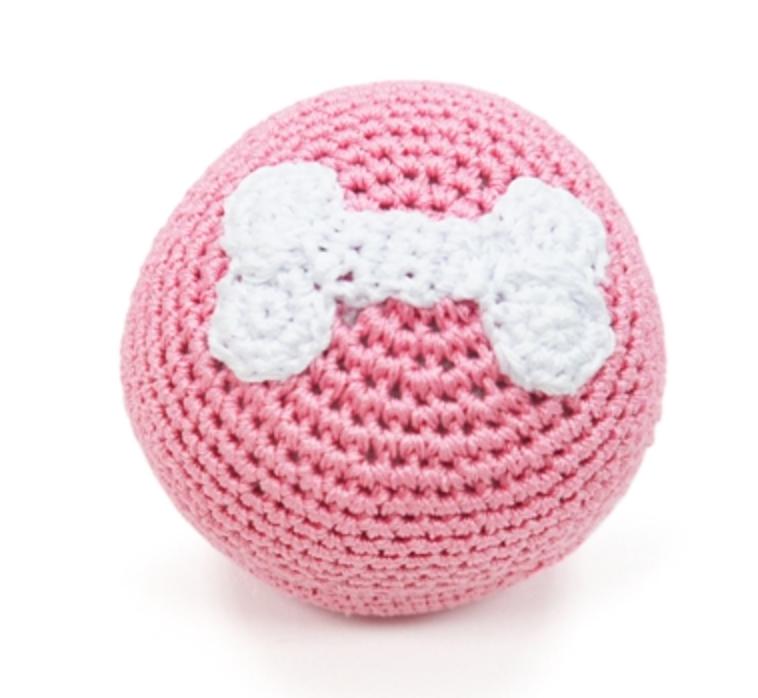 Organic Crochet Pink Ball