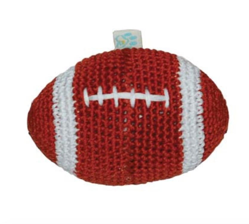Organic Crochet Football