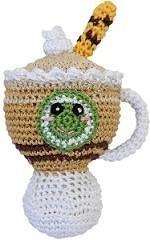 Organic Crochet Latte Toy