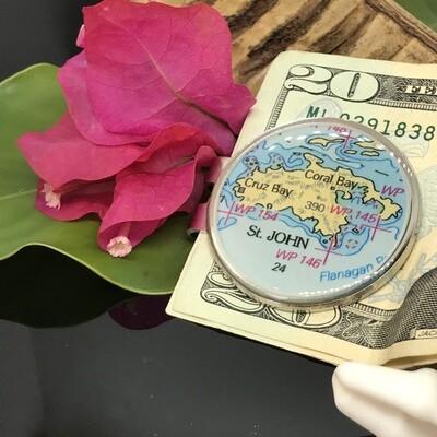 CHART METALWORKS-MONEY CLIP