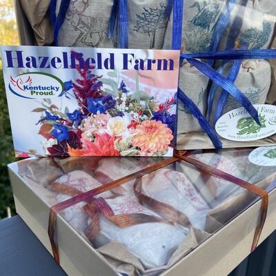 Lavender & Lemongrass Sachets - Gift Box Set