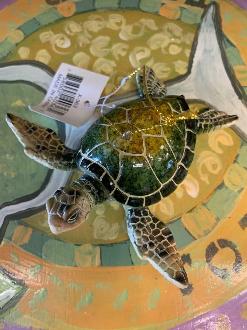 Sea Turtle Decorative Ornament