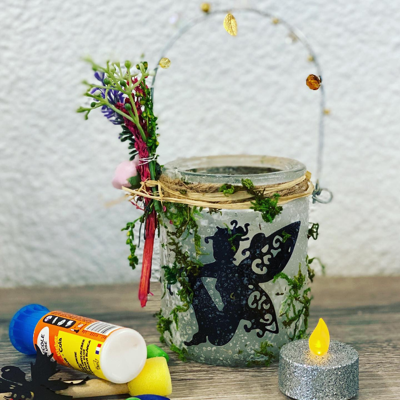 Feenglas- DIY Kit - Bastelset
