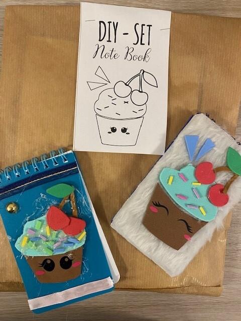 DIY Cupcake-Notenbook