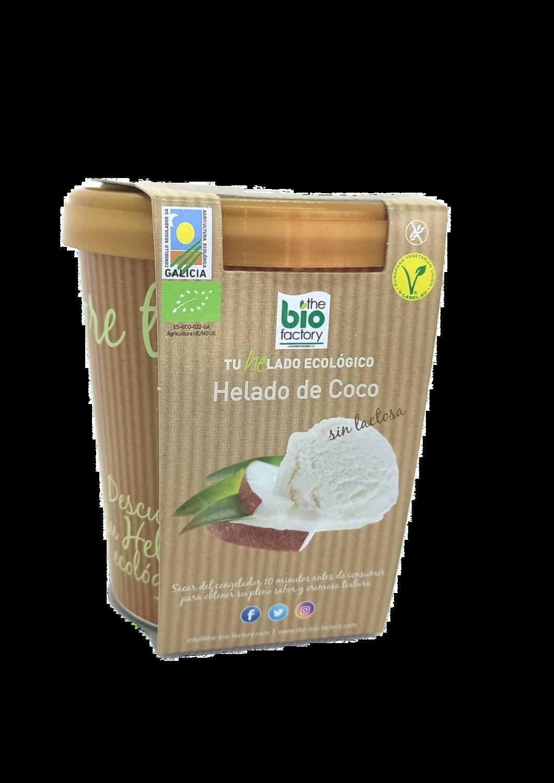 HELADO VEGANO ECOLÓGICO DE COCO 480 ML (Envío gratuito)