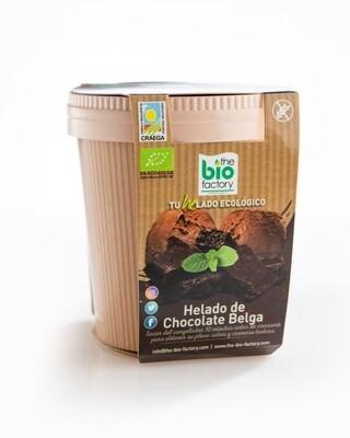 HELADO  ECOLÓGICO DE CHOCOLATE BELGA 480 ML (Envío gratuito)