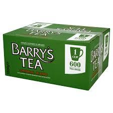 Catering Box 600 Tea Bags (Barry's Unbranded)